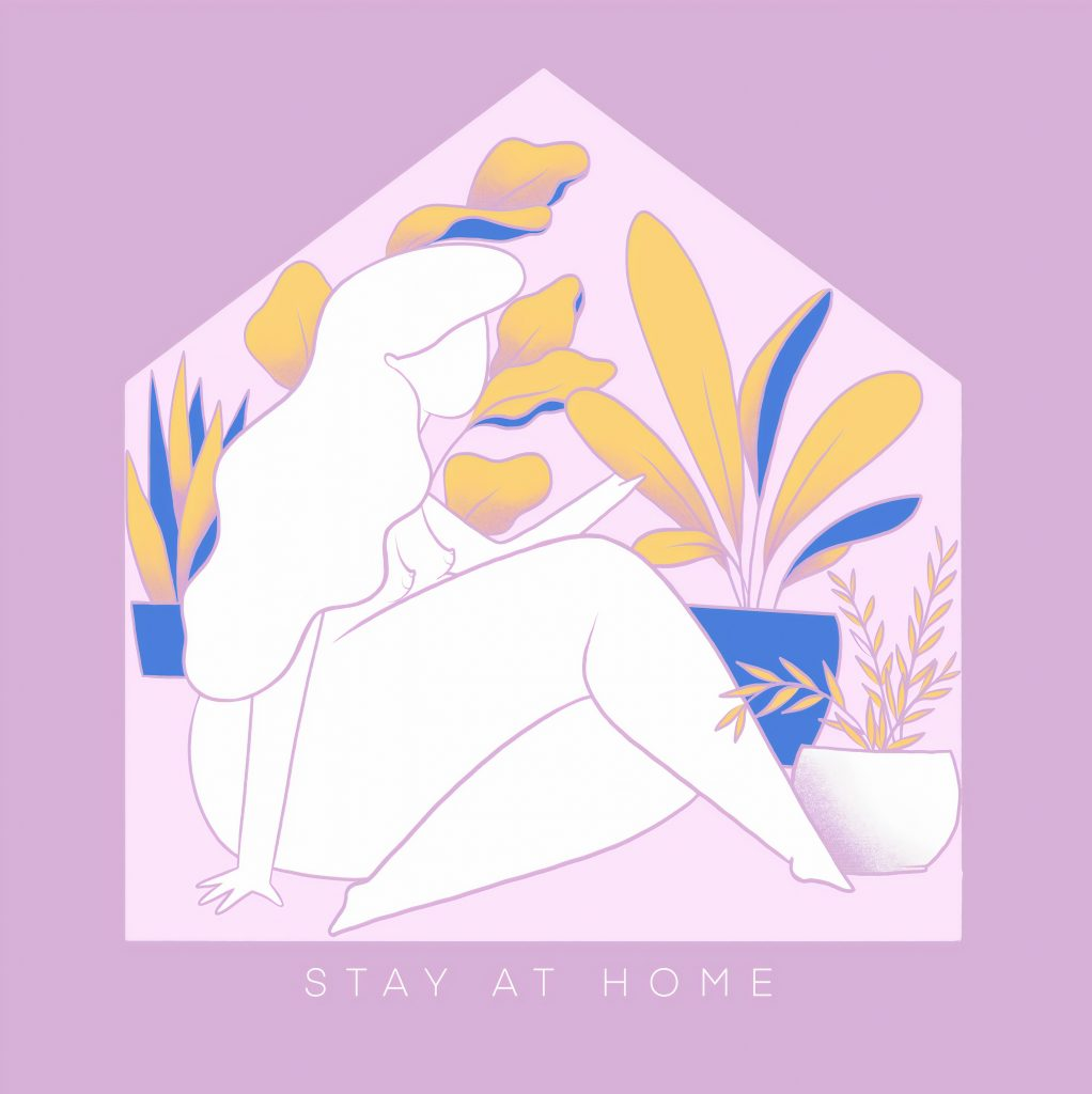 covi-19 stay at home